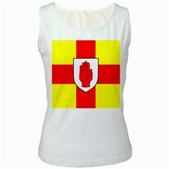 Flag of the Province of Ulster  Women s White Tank Top