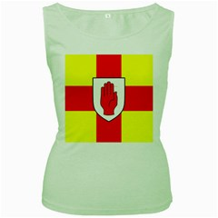 Flag of the Province of Ulster  Women s Green Tank Top