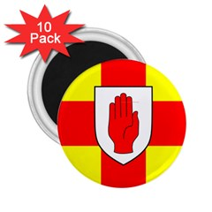Flag of the Province of Ulster  2.25  Magnets (10 pack)