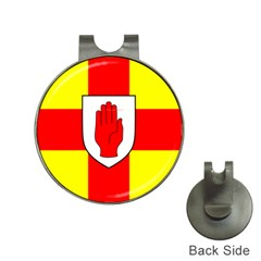 Flag of the Province of Ulster  Hat Clips with Golf Markers