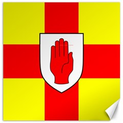 Flag of the Province of Ulster  Canvas 12  x 12