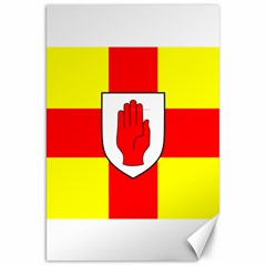 Flag of the Province of Ulster  Canvas 20  x 30