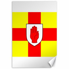Flag of the Province of Ulster  Canvas 24  x 36