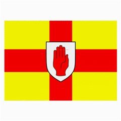 Flag of the Province of Ulster  Large Glasses Cloth