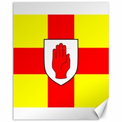 Flag of the Province of Ulster  Canvas 11  x 14