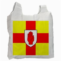 Flag of the Province of Ulster  Recycle Bag (Two Side)