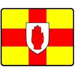 Flag of the Province of Ulster  Fleece Blanket (Medium)