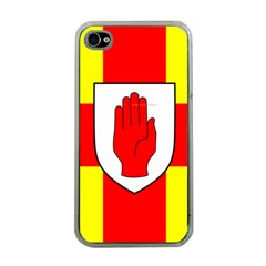 Flag of the Province of Ulster  Apple iPhone 4 Case (Clear)