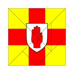 Flag of the Province of Ulster  Acrylic Tangram Puzzle (6  x 6 )