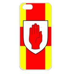Flag of the Province of Ulster  Apple iPhone 5 Seamless Case (White)