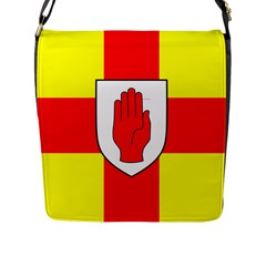 Flag of the Province of Ulster  Flap Messenger Bag (L)