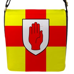 Flag of the Province of Ulster  Flap Messenger Bag (S)