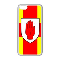 Flag of the Province of Ulster  Apple iPhone 5C Seamless Case (White)