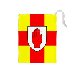 Flag of the Province of Ulster  Drawstring Pouches (Medium)