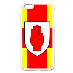 Flag of the Province of Ulster  Apple iPhone 6 Plus/6S Plus Enamel White Case