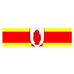 Flag of the Province of Ulster  Satin Scarf (Oblong)