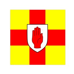 Flag of the Province of Ulster  Small Satin Scarf (Square)