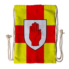 Flag of the Province of Ulster  Drawstring Bag (Large)