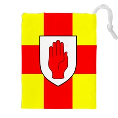 Flag of the Province of Ulster  Drawstring Pouches (XXL)