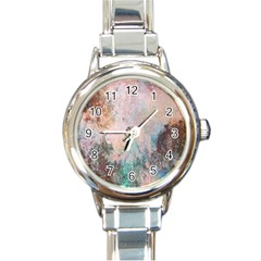 Cold Stone Abstract Round Italian Charm Watch
