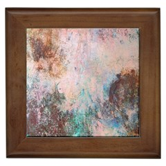 Cold Stone Abstract Framed Tiles