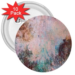 Cold Stone Abstract 3  Buttons (10 pack)