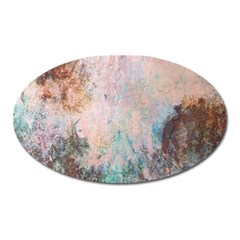 Cold Stone Abstract Oval Magnet