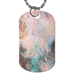 Cold Stone Abstract Dog Tag (one Side)