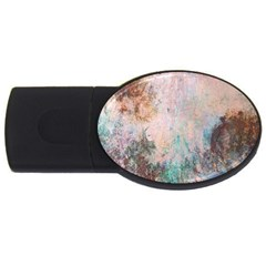 Cold Stone Abstract USB Flash Drive Oval (1 GB)