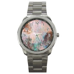 Cold Stone Abstract Sport Metal Watch