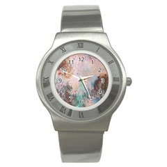 Cold Stone Abstract Stainless Steel Watch