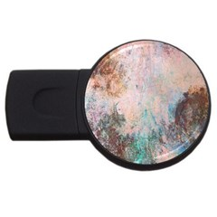 Cold Stone Abstract USB Flash Drive Round (4 GB)