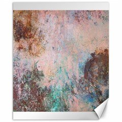 Cold Stone Abstract Canvas 16  x 20