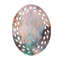 Cold Stone Abstract Ornament (Oval Filigree)