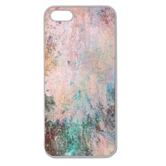 Cold Stone Abstract Apple Seamless iPhone 5 Case (Clear)