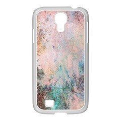 Cold Stone Abstract Samsung GALAXY S4 I9500/ I9505 Case (White)