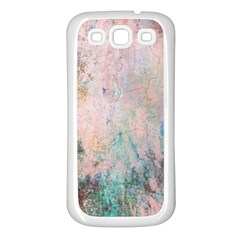 Cold Stone Abstract Samsung Galaxy S3 Back Case (white)