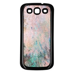 Cold Stone Abstract Samsung Galaxy S3 Back Case (Black)