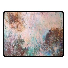 Cold Stone Abstract Double Sided Fleece Blanket (small)