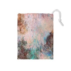 Cold Stone Abstract Drawstring Pouches (Medium)