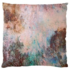 Cold Stone Abstract Large Flano Cushion Case (two Sides)