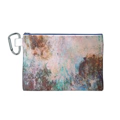 Cold Stone Abstract Canvas Cosmetic Bag (m)