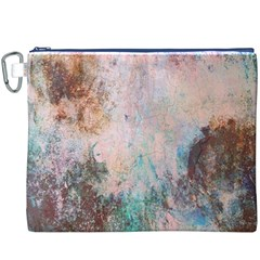 Cold Stone Abstract Canvas Cosmetic Bag (xxxl)