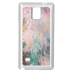 Cold Stone Abstract Samsung Galaxy Note 4 Case (White)