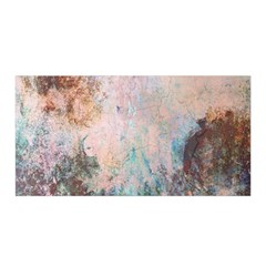 Cold Stone Abstract Satin Wrap