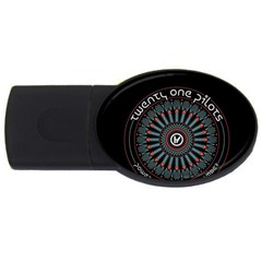 Twenty One Pilots USB Flash Drive Oval (1 GB)