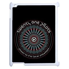 Twenty One Pilots Apple iPad 2 Case (White)