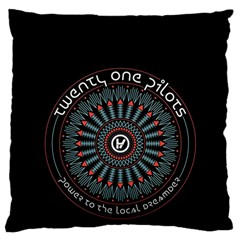 Twenty One Pilots Large Flano Cushion Case (One Side)