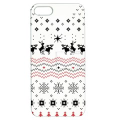 Ugly Christmas Humping Apple iPhone 5 Hardshell Case with Stand