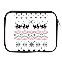 Ugly Christmas Humping Apple Ipad 2/3/4 Zipper Cases